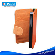 Sublimation Leather Mobile Phone Case for iphone4 for Wholesale