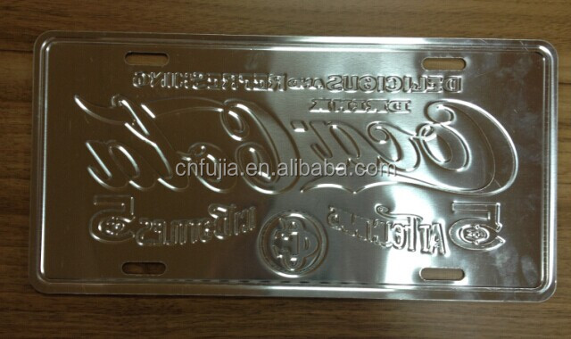 2015 hot sale embossed license plate,blank license plate,car license plate