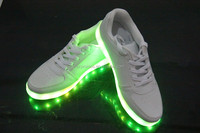 2016 UNISEX LOW TOP LED LIGHT UP SHOES SNEAKERS
