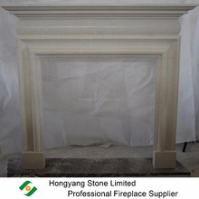 Chinese fireplaces manufactory bolection limestone fireplace