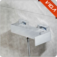 Wall-mounted Bath&Tube Shower Faucet Mixer Tap