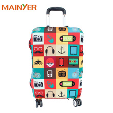 Travel Luggage Luggage Cover Suitcase Protector 18'24'26'28',30' With Cool Elastic Dust-proof Fabric