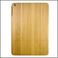 two-part Carbonized Bamboo wooden case for ipad 5, high quality wood phone case, can custom made in China