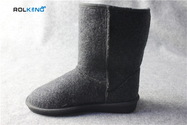 sheep wool boots