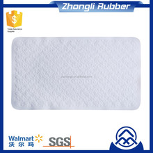 anti slip Silicone Bath Mat colorful soft surface