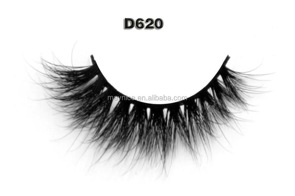 high quality hot sale wholesale 3D real mink eyelashes custom package