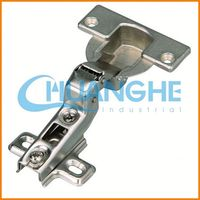 Hydraulic buffering hinge ramp hinges