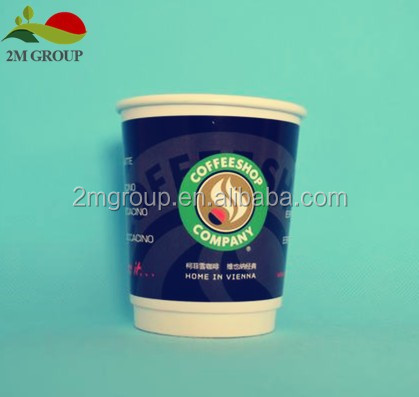 double wall coffee hot paper cups