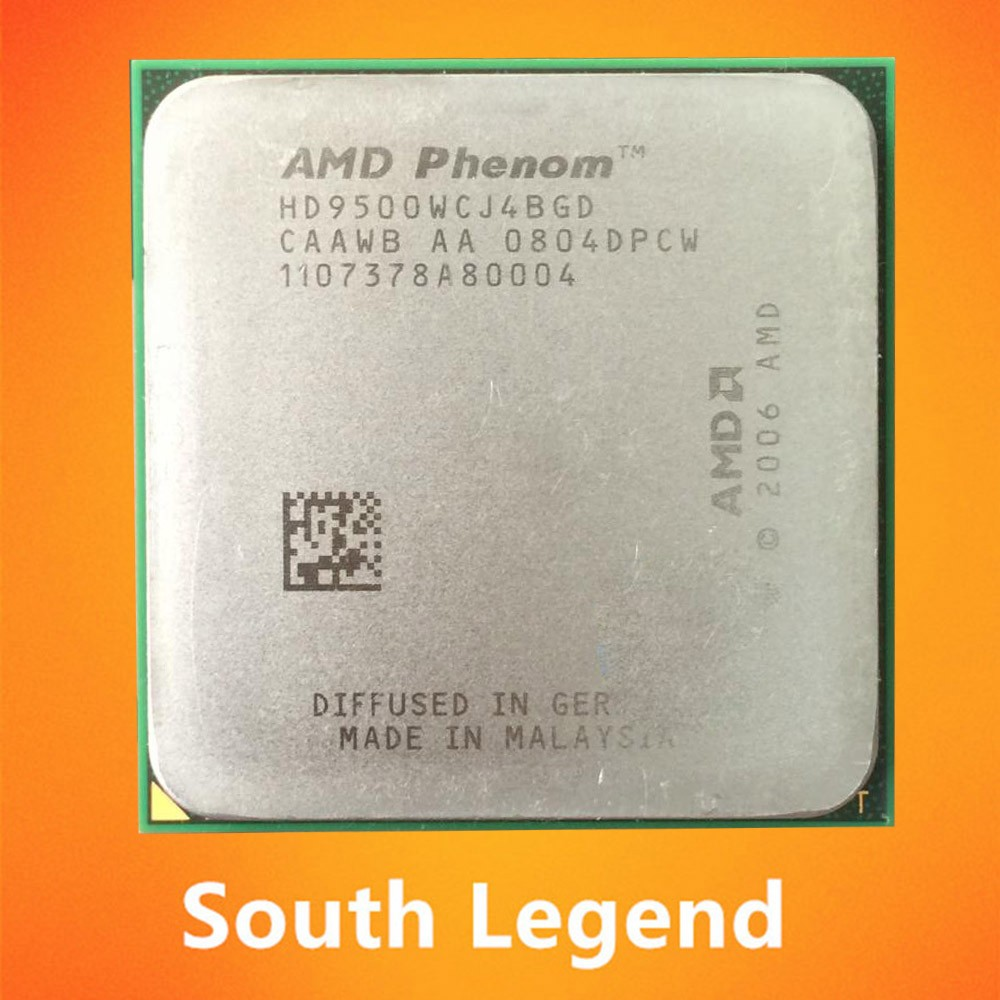 AMD CPU Phenom X4 9500 Cheap Used AMD Processor 940pin Socket AM2+