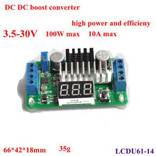 5v 13v dc to dc non isolated step up converter with led display tube