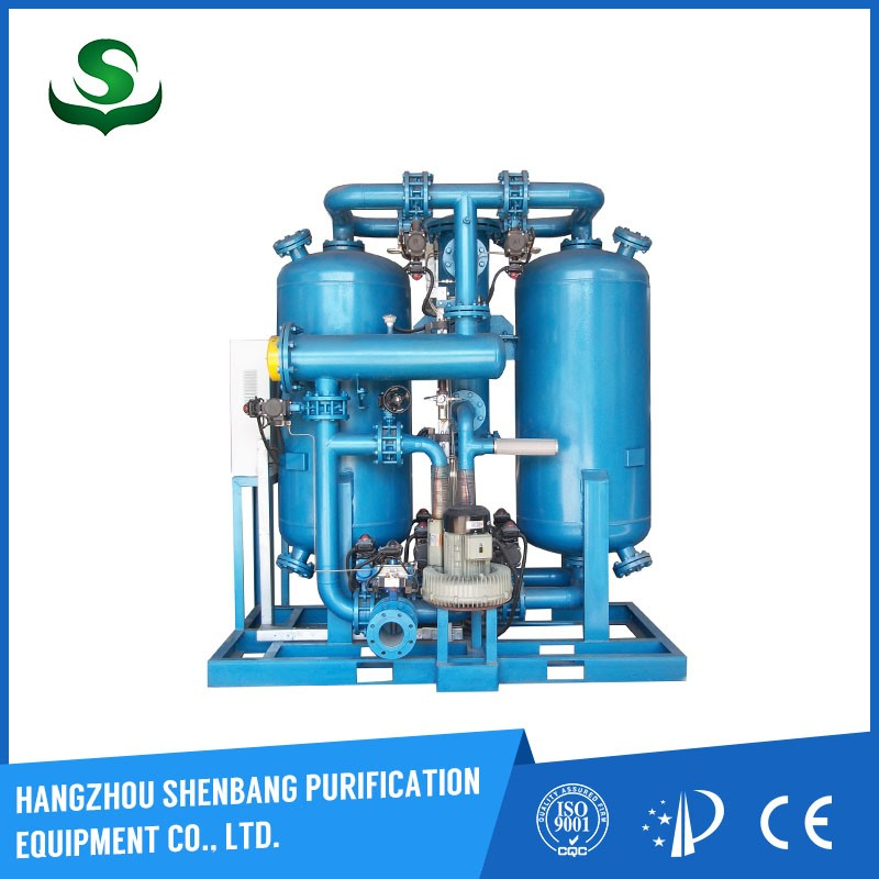 HANGZHOU SHENBANG desiccant air dryer / heatless adsorption dryer Stainless steel