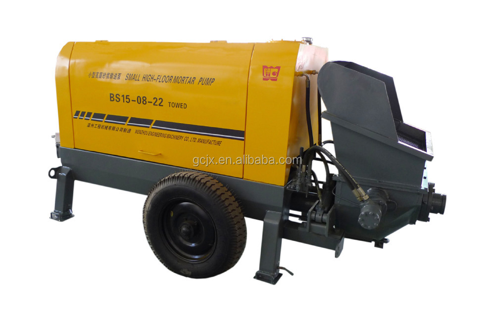 15 m3/h china cheap concrete mortar pump