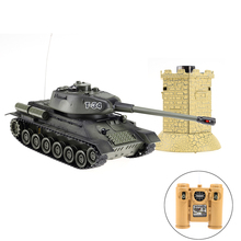 Latest arrival 1/28 scale infrared battle large rc tank