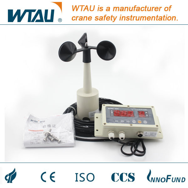 WTF0B100 Mechanical electronic anemometer for port