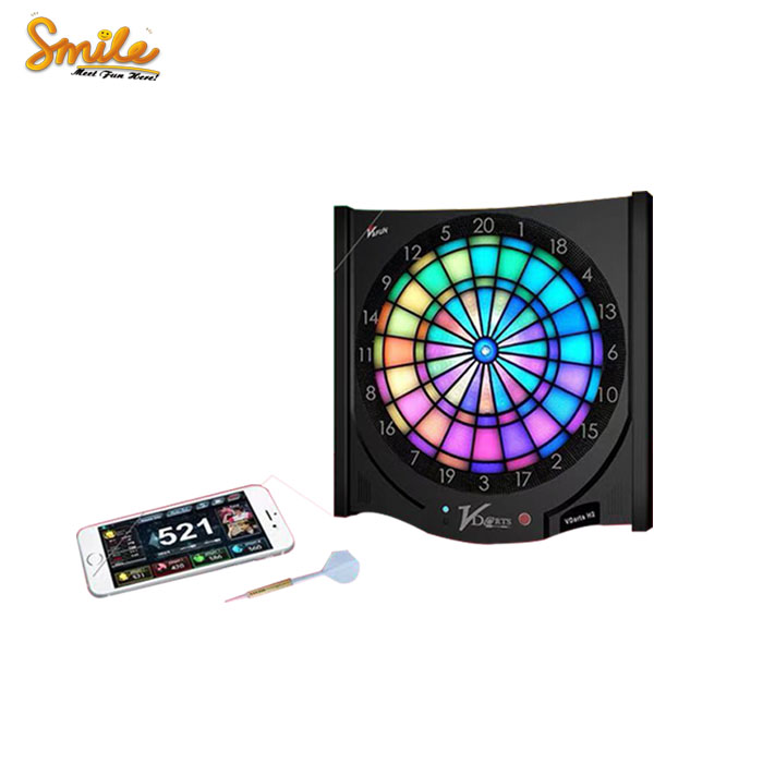 Wholesale Cheap Mini Plus H2L Luxury LED Dart Board Game Electronic Sport Dart Arcade Entertainment <strong>Machine</strong> Hot Sale In France