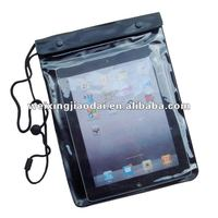Newest design high quality waterproof pouch case bag for apple ipad 2