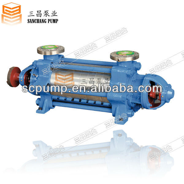 DJ horizontal multistage oil transfer pump for waste oil delivery