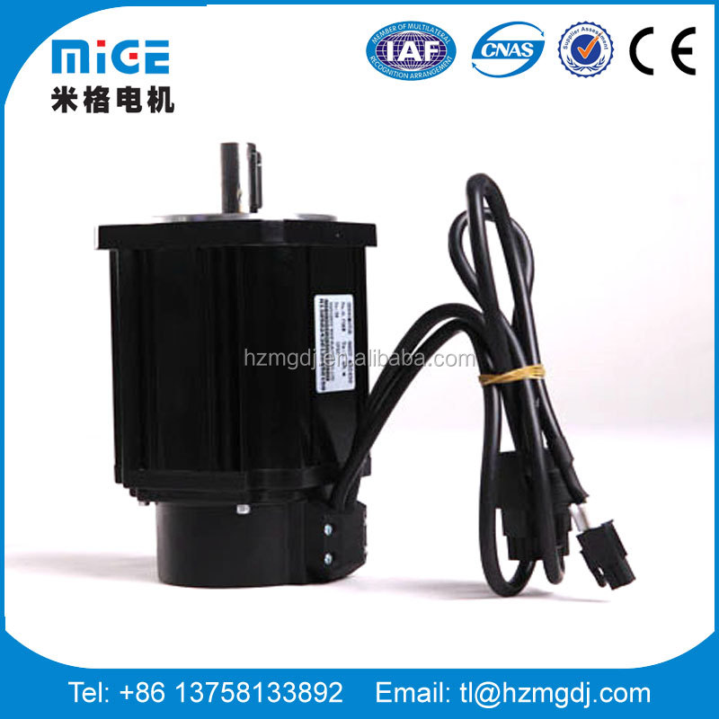 Mige brand universal use cable deign hotsale 750W ac servo motor