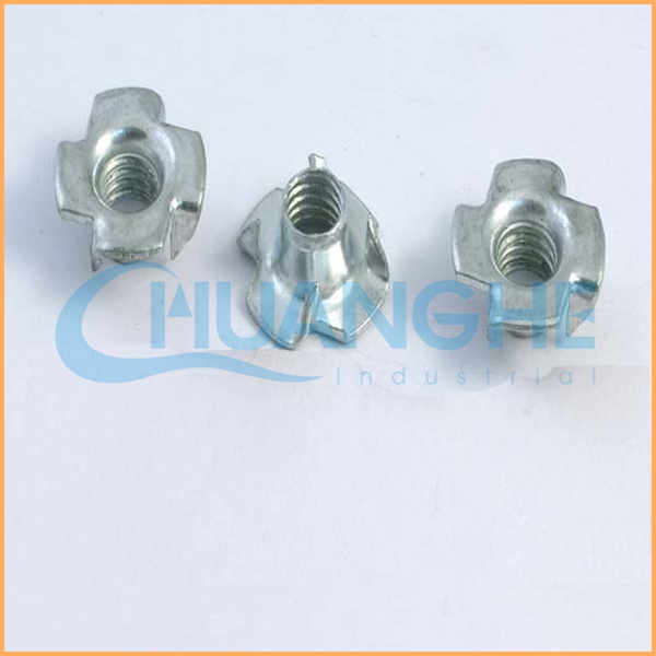 China hardware manufacturer sales stainless steel square locking t nut