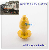 Asphalt bits road milling cutter machine teeth carbide tip road cutter tool