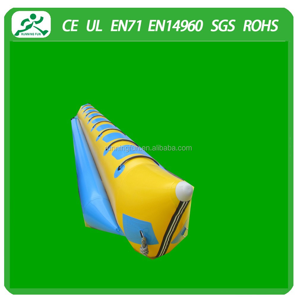 High quality inflatable banana boat/inflatable kayak/inflatable banana float