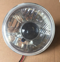 "7""BMC Round Semi Sealed Beam headlight with lens cover accessory"