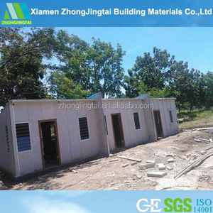 Kits sip panels prefabricated wooden homes prefab guard house