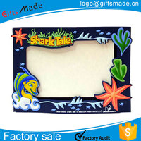 wholesale 3x5 large picture frames/gift box hanging plastic picture frames