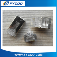 CAT6 EZ Shield FTP RJ45 Plug