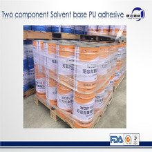 Food grade friendly solventless polyurethane laminating adhesive