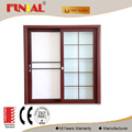 Hongtai customized design aluminum alloy frame partition glass sliding door