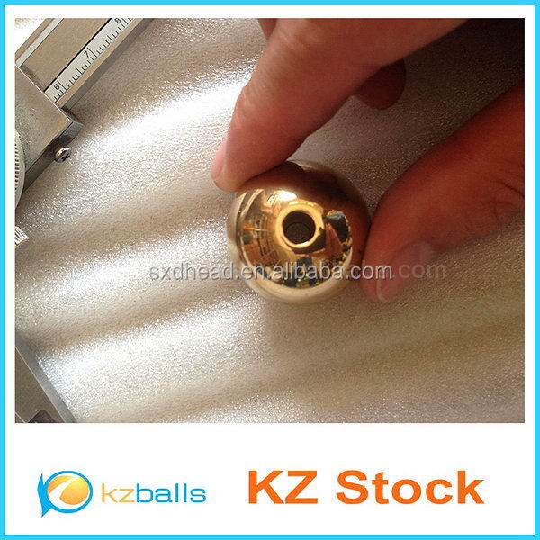 Drilled H59 24mm plated golg or brass ball chain