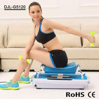 Easy Exercise Equipment Whole Body Vibration Plate Fitness Machine