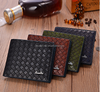 leather money clip/man travel wallet/customized pu leather man wallet