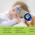 FDA approved clinical infrared body thermometer with CE, RoHS