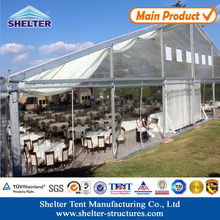 2014 high quality Clear PVC weding tent for large functions of all types
