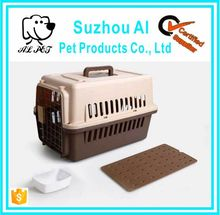 Travel Cage Pet Aviation Flight Box Pet Carrier Cage Outdoor Dog Transport Cage