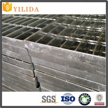 China plain steel grating used as outdoor composite stair treads