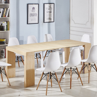 Professional Custom Color Expanding Dining Table
