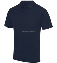Custom Soft Euro size 60%cotton 40%polyester polo t shirt with ribbing cuffs