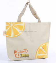 shoping bag cotton/ pvc coated cotton bag/ cotton bag for gift /shopping
