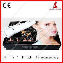 HF003 Professional 4 electrodes Portable High Frequency Facial wand