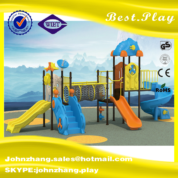 China Factory directly sale double edge connector outdoor playground part