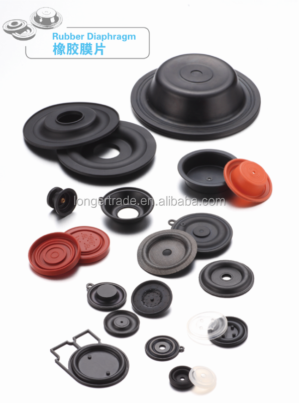 China OEM quality Customized Rubber Diaphragm