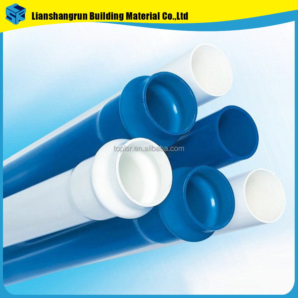 hebei manufacturer direct supply PN10 upvc tubing pvc colum pipe