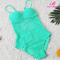 Wholesale High Quality Pretty Sexy One Piece Swimsuit Woman