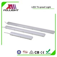 Tri-proof led light, water proof led light 40w 1200mm for Parking Garage Lot