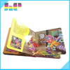 children pop up book printing,nice cartoon children book printing
