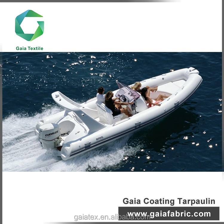 Factory direct sales all kinds of pvc coated fabric for inflatable plastic boat/ inflatable boat