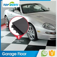 Topcourts wholesale waterproof pp plastic tiles interlock garage floor